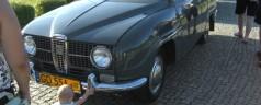 Saab 95 z 1966 r. – szwedzka  rajdówka   Dariusza Kamińskiego