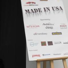 """Wystawa amerykańskich aut """"Made in USA"""" Sopot, molo 29.05.2016"""