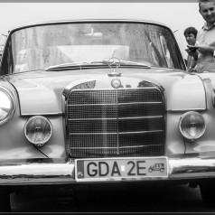 Das Auto….   Mercedes 190 D ,  model                    W 110 z 1964 roku Wojciecha Astachowa
