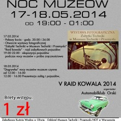 Europejska Noc Muzeów 2014- Kuźnia Wodna w Oliwie