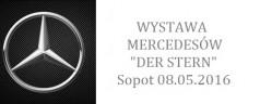 """Wystawa Mercedesów """"Der Stern"""" Sopot, molo 08.05.2016"""